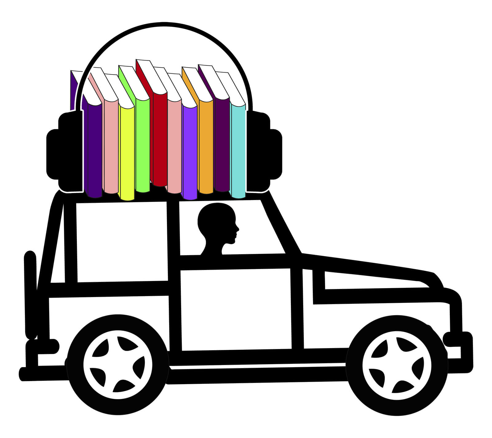 audiobooks while driving